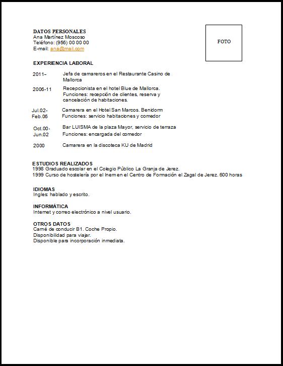 Tutorial Cv Para Trabajadores Segun Sus Estudios Empleo Salamanca